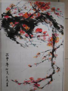 Peinture Mei Wang