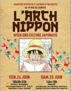 Arch nippon 25 juin