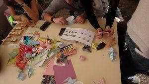 Jeux et origami Arch nippon Soleil Levant