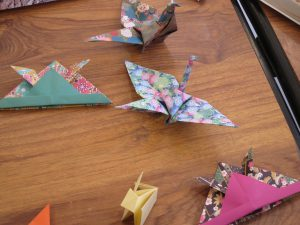 origami Bibliothèque St Sylvain Soleil Levant