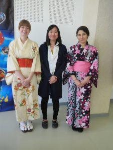 kimono et japonaise membres Soleil Levant