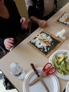 atelier sushi Cefoc Angers